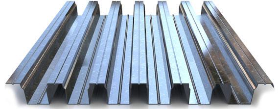 Профнастил оцинкованный 0,8х600х2000 (Н114)