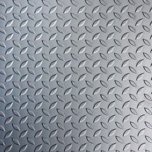 Лист стальной рифленый 10х1500х6000